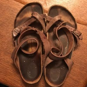 Used Birkenstock Yara Sandals. Size 39.